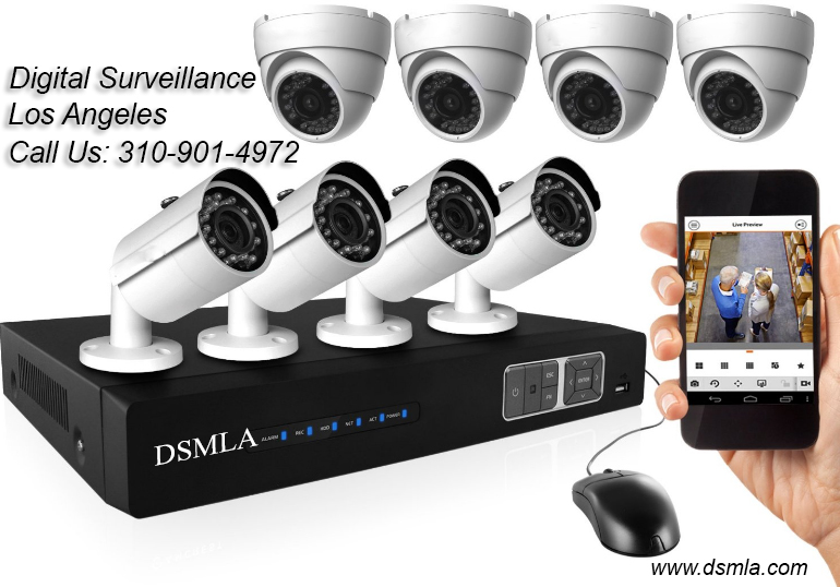 CCTV Security System Installation Los Angeles